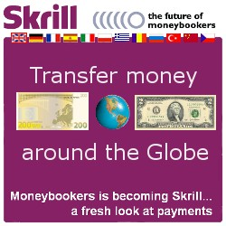 Skrill is the future of MoneyBookers. Transfer money around the Globe. MoneyBookers is becoming Skrill... a fresh look at payments.